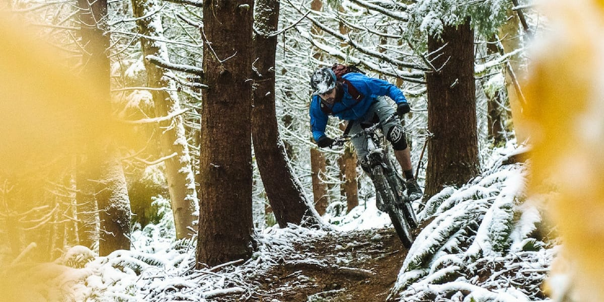 Single track hivernal